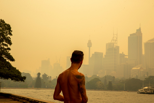 Sydney「Smoke Haze Blankets Sydney As Bushfires Continue To Burn Across NSW」:写真・画像(5)[壁紙.com]