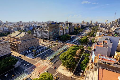 Buenos Aires「Argentina, Buenos Aires, City Centre」:スマホ壁紙(12)