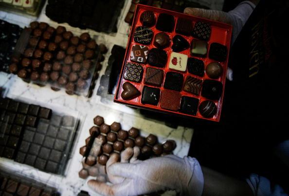 Box - Container「New York Chocolatier Prepares Easter Basket Treats」:写真・画像(16)[壁紙.com]