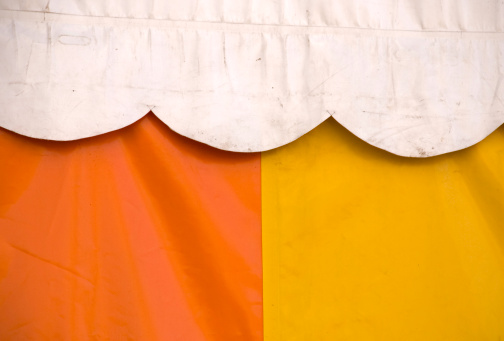 Circus Tent「tent, white,yellow and orange」:スマホ壁紙(17)