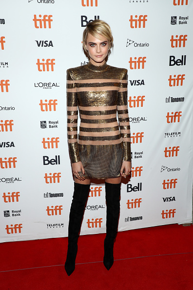 "Metallic Dress「2018 Toronto International Film Festival - ""Her Smell"" Premiere」:写真・画像(7)[壁紙.com]"