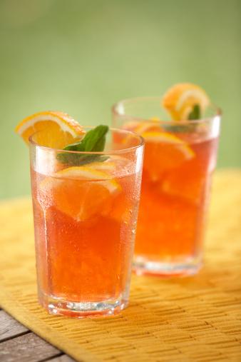 Orange - Fruit「Iced Drink-4」:スマホ壁紙(13)
