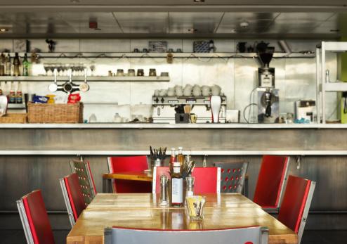 Diner「Table, English diner with bar, indoor」:スマホ壁紙(3)