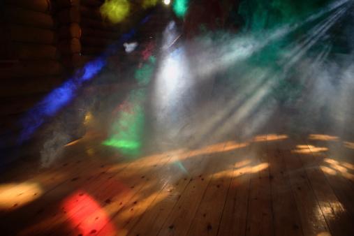 Cool Attitude「Disco Lights With smoke」:スマホ壁紙(10)