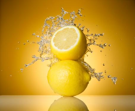 Two Objects「Lemon Splash」:スマホ壁紙(10)