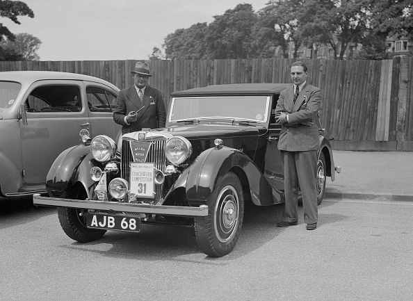 Cars 2「MG SA of AC Hess at the South Wales Auto Club Welsh Rally, 1937」:写真・画像(7)[壁紙.com]