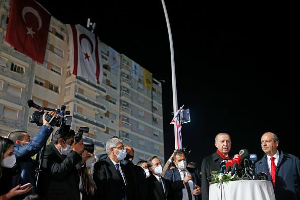 Republic Of Cyprus「President Erdogan of Turkey Visits Cyprus」:写真・画像(11)[壁紙.com]