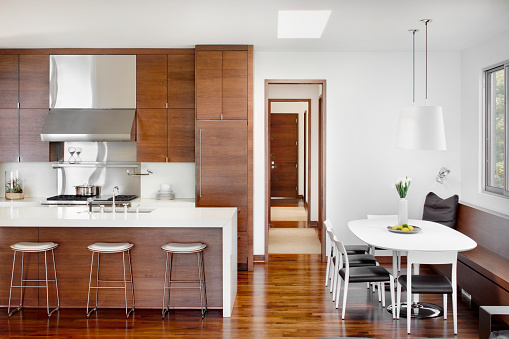 Home Interior「Modern Kitchen and eating areas」:スマホ壁紙(5)