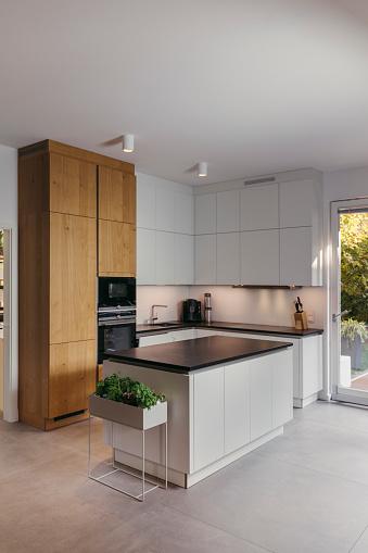 Domestic Kitchen「Modern kitchen」:スマホ壁紙(12)