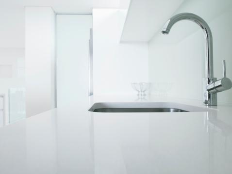 Faucet「Modern kitchen faucet and sink」:スマホ壁紙(10)