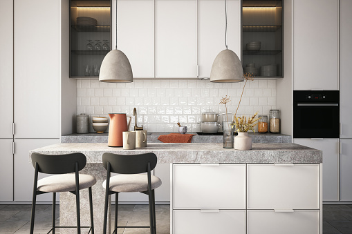 Inexpensive「Modern kitchen interior stock photo」:スマホ壁紙(19)
