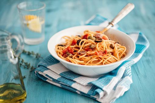 Tomato Sauce「Bowl of Spaghetti alla Pizzaiola」:スマホ壁紙(12)