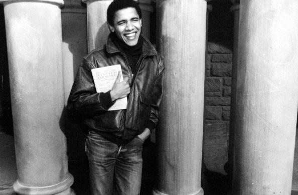 1990-1999「Barack Obama as student at Harvard university, c. 1992」:写真・画像(5)[壁紙.com]