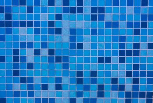 Paving Stone「Blue tiles mosaic」:スマホ壁紙(10)