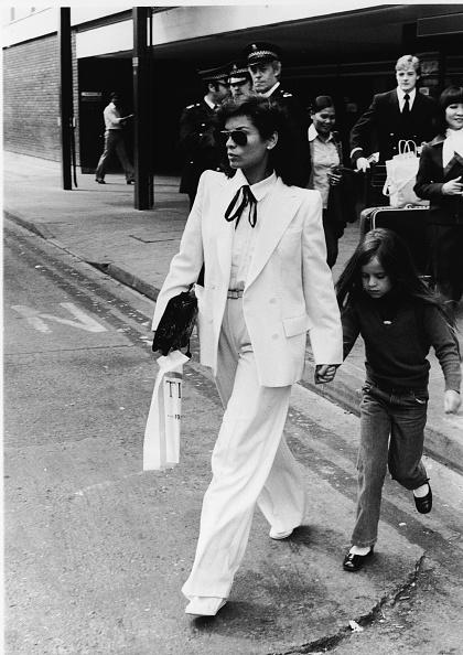 White Color「Bianca & Jade Jagger」:写真・画像(3)[壁紙.com]