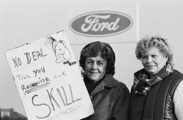 Strike - Protest Action「Ford Women On Strike」:写真・画像(19)[壁紙.com]