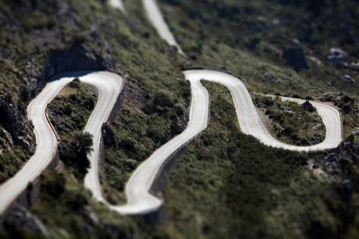 Hairpin Curve「Serpentine road to Sa Calobra」:スマホ壁紙(0)
