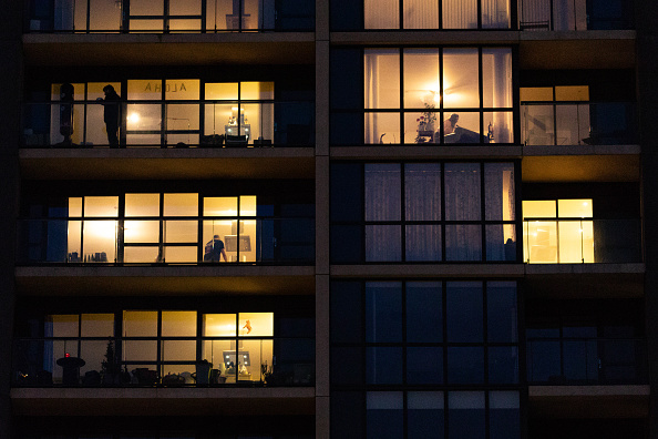 Residential Building「Londoners Stay At Home During The Coronavirus, Covid-19 Pandemic」:写真・画像(6)[壁紙.com]