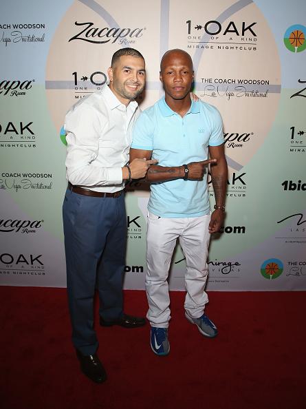 Zab Judah「Coach Woodson Las Vegas Invitational Red Carpet And Pairings Party」:写真・画像(17)[壁紙.com]