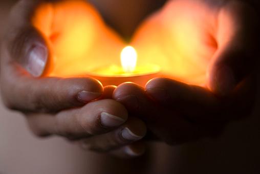 Spirituality「Hope illuminates」:スマホ壁紙(4)