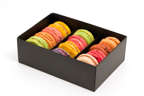 Macaroon「french macaroons in a box」:スマホ壁紙(5)