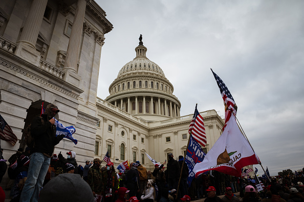 """Capitol Hill「Trump Supporters Hold """"Stop The Steal"""" Rally In DC Amid Ratification Of Presidential Election」:写真・画像(11)[壁紙.com]"""