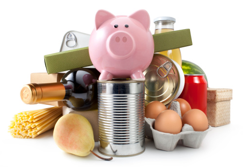 Supermarket「Groceries with piggy bank」:スマホ壁紙(10)