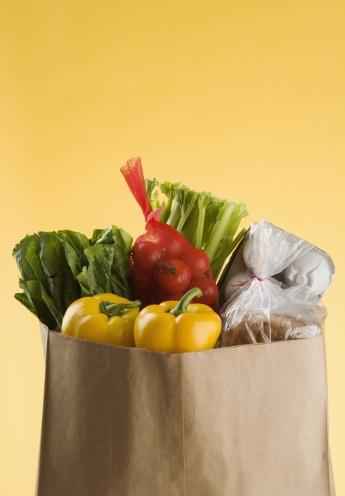 Supermarket「A full bag of groceries」:スマホ壁紙(19)