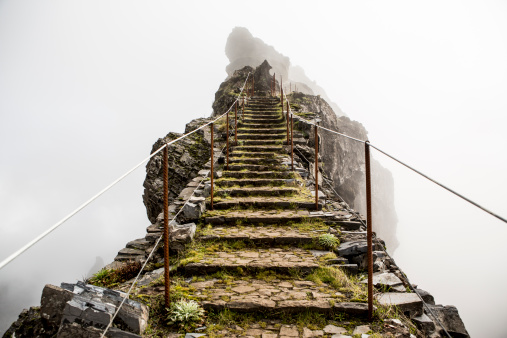 Danger「Highland trail, Madeira, Portugal」:スマホ壁紙(14)