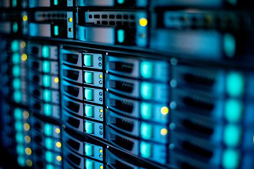Data Center「Extreme Close-up of Supercomputer」:スマホ壁紙(0)