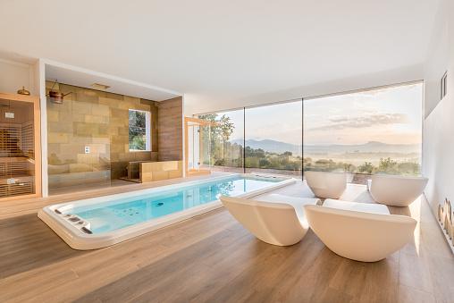 Deck Chair「Spa with whirlpool and sauna」:スマホ壁紙(14)
