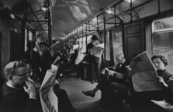 Commuter「London Underground Commuters」:写真・画像(13)[壁紙.com]
