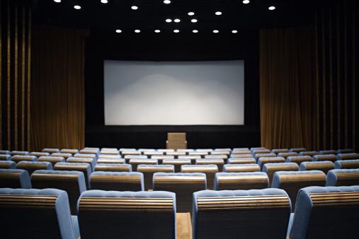 ������「Empty cinema」:スマホ壁紙(2)