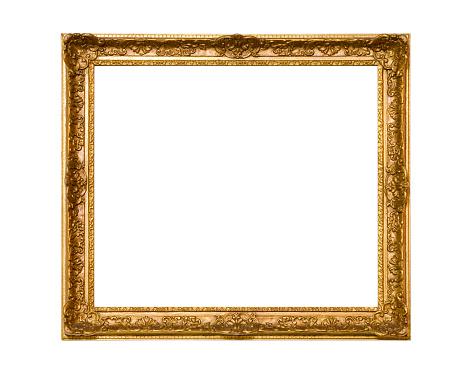 Rectangle「Gold Frame」:スマホ壁紙(18)