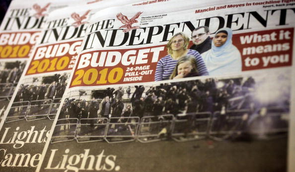 Oli Scarff「Alexander Lebedev Buys The Independent And Independent On Sunday for £1」:写真・画像(11)[壁紙.com]