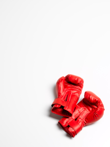 Weekend Activities「Boxing gloves on white background」:スマホ壁紙(11)