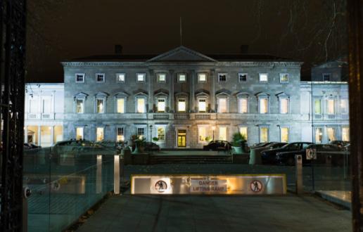 Dublin - Republic of Ireland「Irish Parliament building, Dublin」:スマホ壁紙(9)