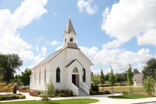 Chapel「Old White Church」:スマホ壁紙(2)