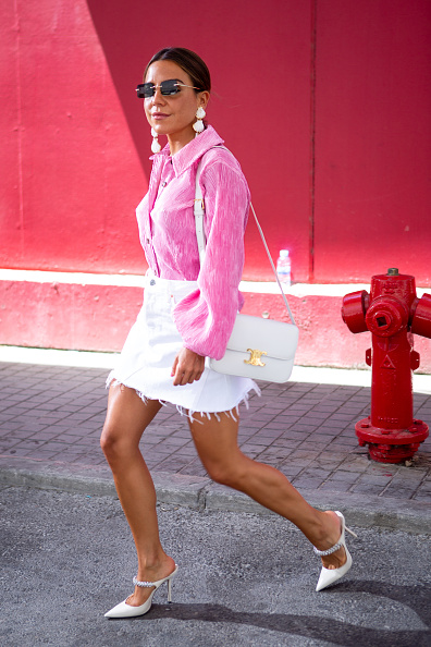 White Shoe「Day 6 - Street Style - Mercedes Benz Fashion Week Madrid Spring/Summer 2020」:写真・画像(5)[壁紙.com]