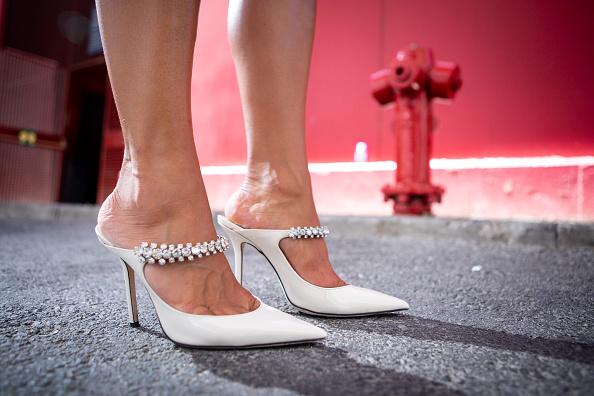 White Shoe「Day 6 - Street Style - Mercedes Benz Fashion Week Madrid Spring/Summer 2020」:写真・画像(4)[壁紙.com]