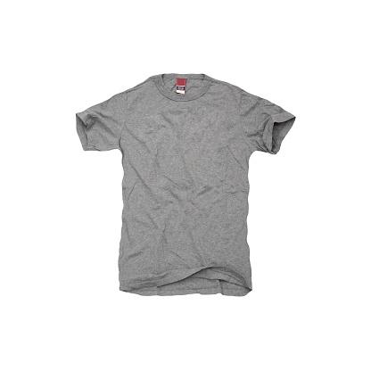 Shirt「A grey t-shirt on white background」:スマホ壁紙(4)