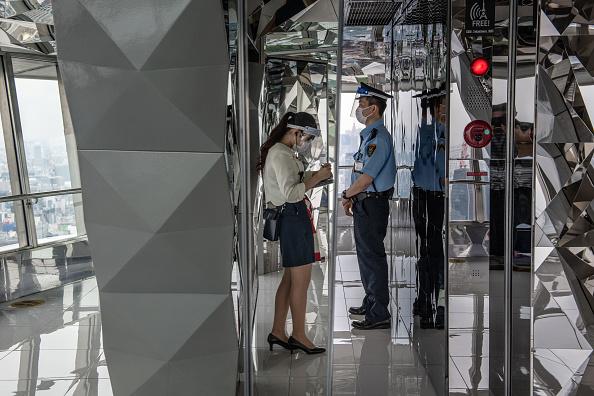 Tokyo Tower「Japan Slowly Recovers From Coronavirus Outbreak」:写真・画像(6)[壁紙.com]