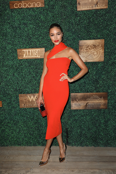 Mid Calf Length「2018 Sports Illustrated Swimsuit at PARAISO During Miami Swim Week, W South Beach - Red Carpet & Front Row」:写真・画像(7)[壁紙.com]