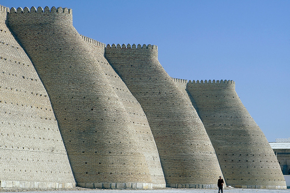 Curve「The Ark Fortress. Bukhara, Uzbekistan.」:写真・画像(15)[壁紙.com]