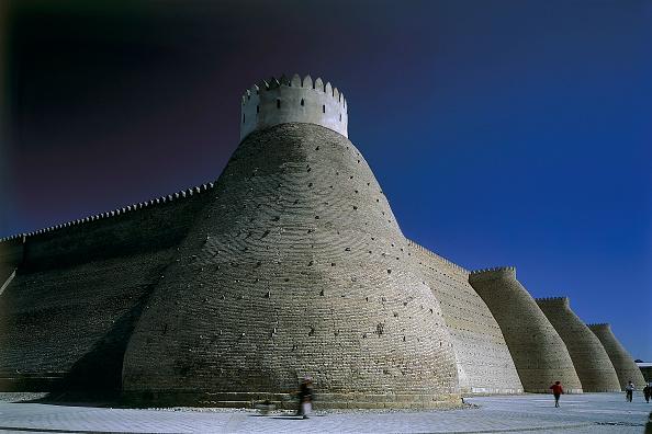 Bukhara「The Ark Fortress. Bukhara, Uzbekistan.」:写真・画像(1)[壁紙.com]