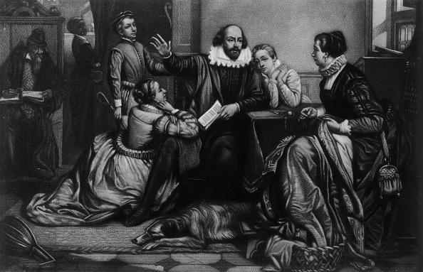 1900「William Shakespeare Reciting Hamlet To His Family」:写真・画像(6)[壁紙.com]