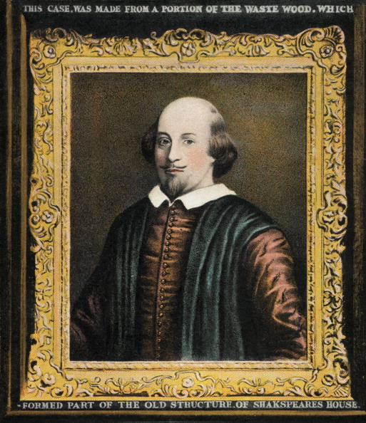 William Shakespeare「William Shakespeare, framed portrait. English playwright,」:写真・画像(18)[壁紙.com]