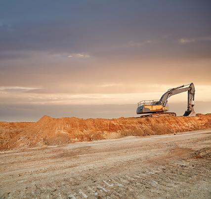 Construction Vehicle「Quarry Landscape」:スマホ壁紙(19)