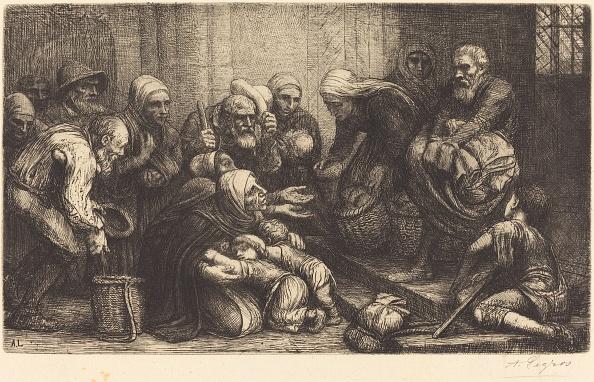Manufactured Object「Beggars Of Brussels (Les Mendiants De Bruges). Creator: Alphonse Legros.」:写真・画像(11)[壁紙.com]