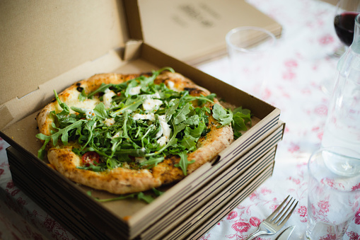 Leaf Vegetable「Pizza for dinner」:スマホ壁紙(18)